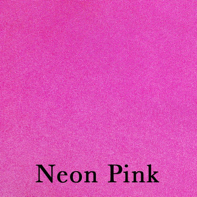 Neon Pink Spandex Linen
