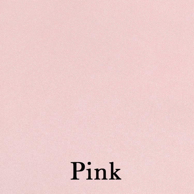 Pink Spandex Linen