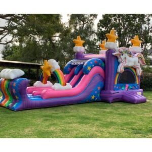 Unicorn Bounce House Rental Combo rental